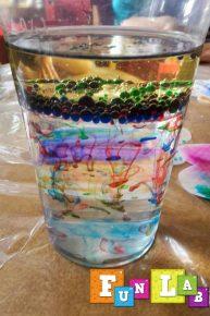 woda olej eksperyment