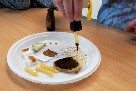 eksperymenty z jodyną dla uczniów
